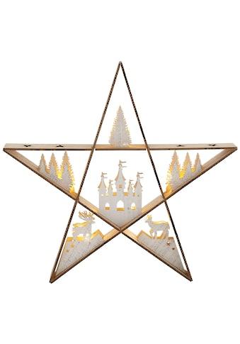 Home affaire LED Stern »Weihnachtszauber«, Warmweiß, mit zahlreichen Details kaufen