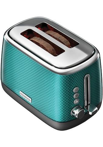 KENWOOD Toaster »Mesmerine TCM811.BL«, 2 kurze Schlitze, für 2 Scheiben, 1000 W kaufen