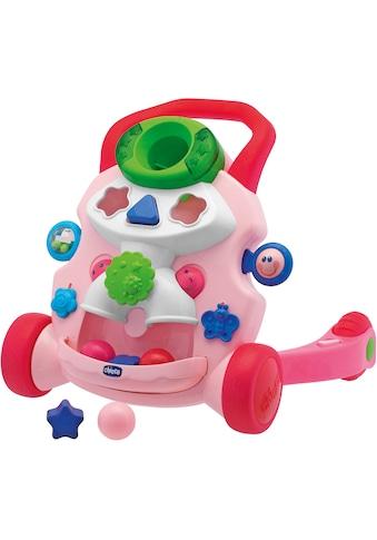Chicco Lauflernhilfe »2in1 Chicco Lauflernwagen, rosa«, mit Activity Center kaufen