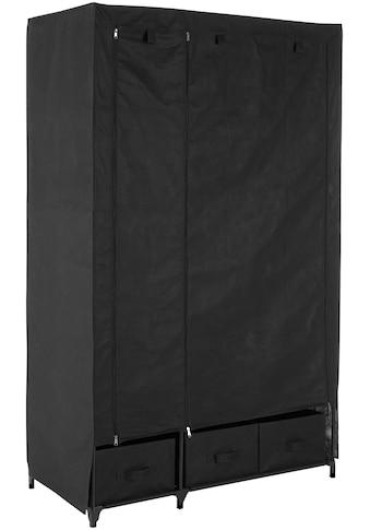 Kleiderschrank »aus Vlies«, Breite 110 cm, mit acht Ablagen als Stauraum und einer... kaufen