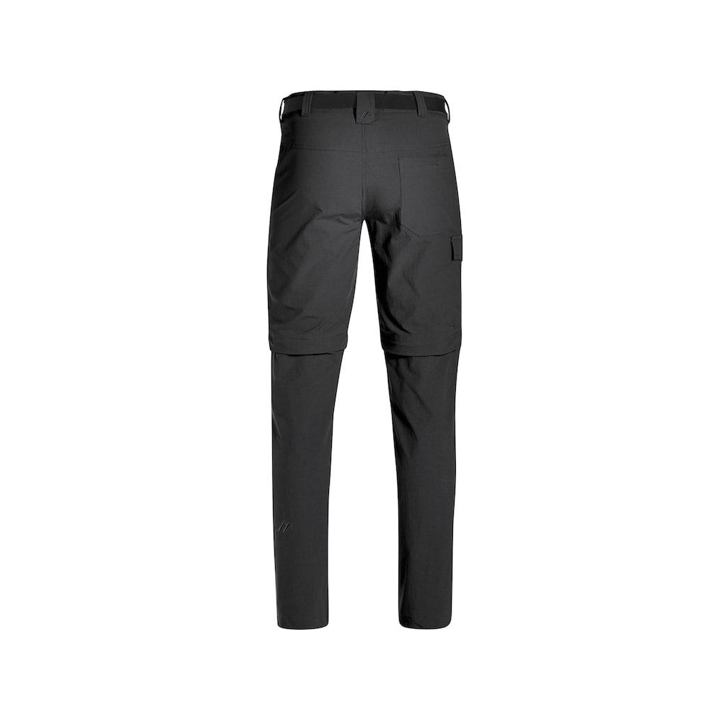 Maier Sports Funktionshose »Torid slim zip«, Schmal geschnittene Outdoorhose mit Zipp-Off