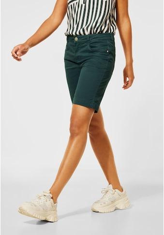 STREET ONE Shorts, aus Baumwolle mit Stretchanteil kaufen