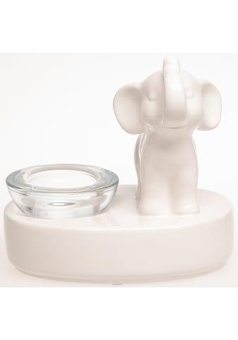 VALENTINO Wohnideen Teelichthalter »Elefant Bindu«, stehend kaufen