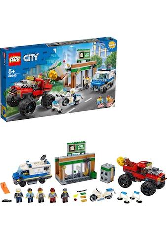LEGO® Konstruktionsspielsteine »Raubüberfall mit dem Monster-Truck (60245), LEGO®... kaufen