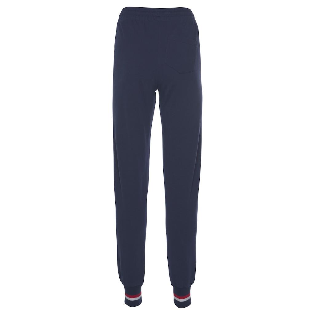 H.I.S Jogginghose »Athleisure Jogging Pants«, mit weißem Piping