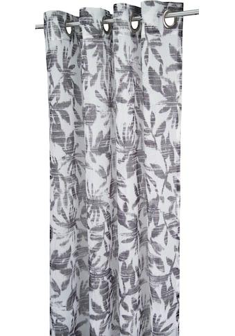 TOM TAILOR Vorhang »BATIC LEAVES«, HxB: 245x138 kaufen
