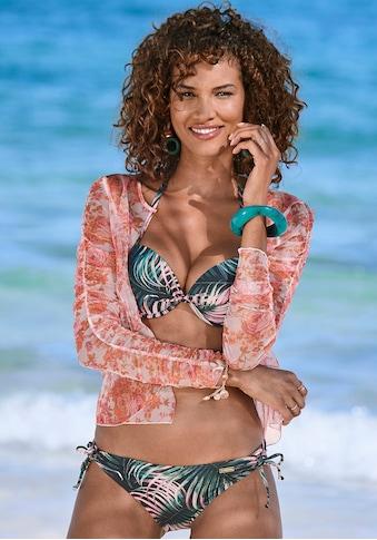 LASCANA Push-Up-Bikini-Top »Reese«, mit Palmendruck kaufen