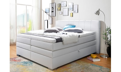INOSIGN Boxspringbett »Airdrie«, mit Bettkasten und Topper kaufen