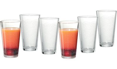 Ritzenhoff & Breker Longdrinkglas »Happy, Rainbows«, (Set, 6 tlg., 6 Longdrinkgläser,... kaufen