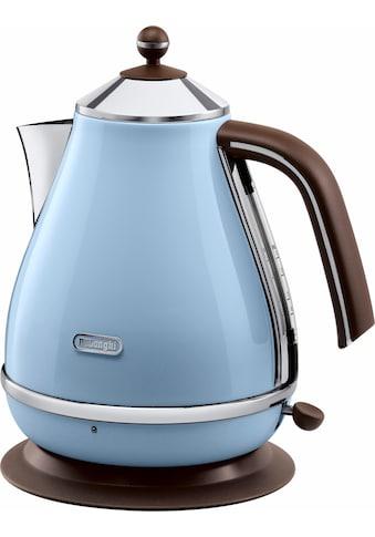 De'Longhi Wasserkocher, KBOV2001.AZ, 1,7 Liter, 2000 Watt kaufen