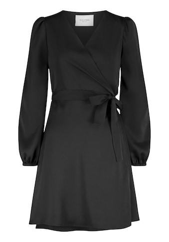 Nicowa Wickelkleid »VEROWA«, mit unifarbenem Stoff - VEROWA kaufen