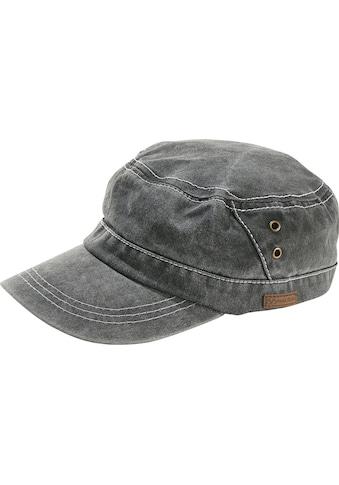 Jan Vanderstorm Army Cap »BODE«, leichte Used Optik kaufen