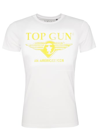 TOP GUN T-Shirt »Beach«, sportlicher Schnitt kaufen