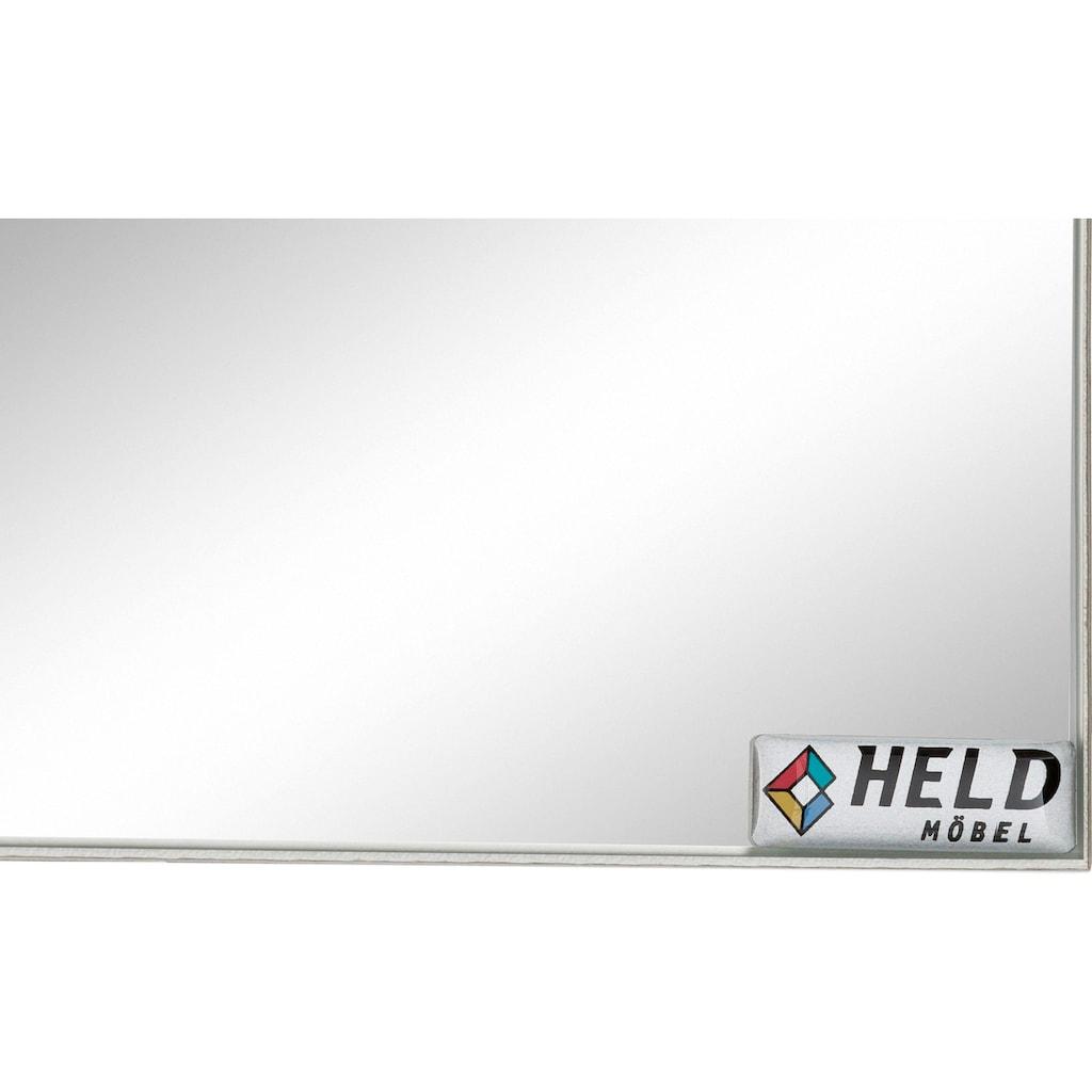 HELD MÖBEL Badmöbel-Set »Ribera«, (4 St.), Spiegelschrank, Waschplatz, Hängeschrank, Unterschrank