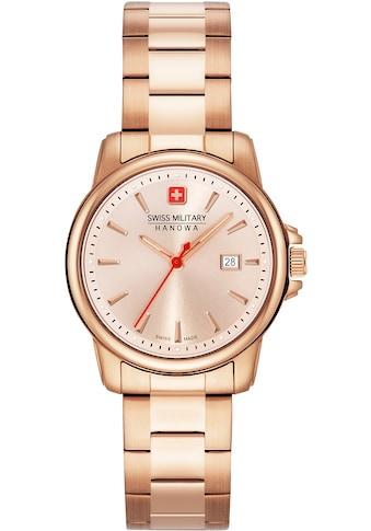 Swiss Military Hanowa Schweizer Uhr »SWISS RECRUIT LADY II, 06-7230.7.09.010« kaufen