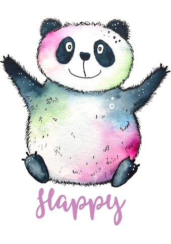 Wall-Art Wandtattoo »Happy Panda« kaufen
