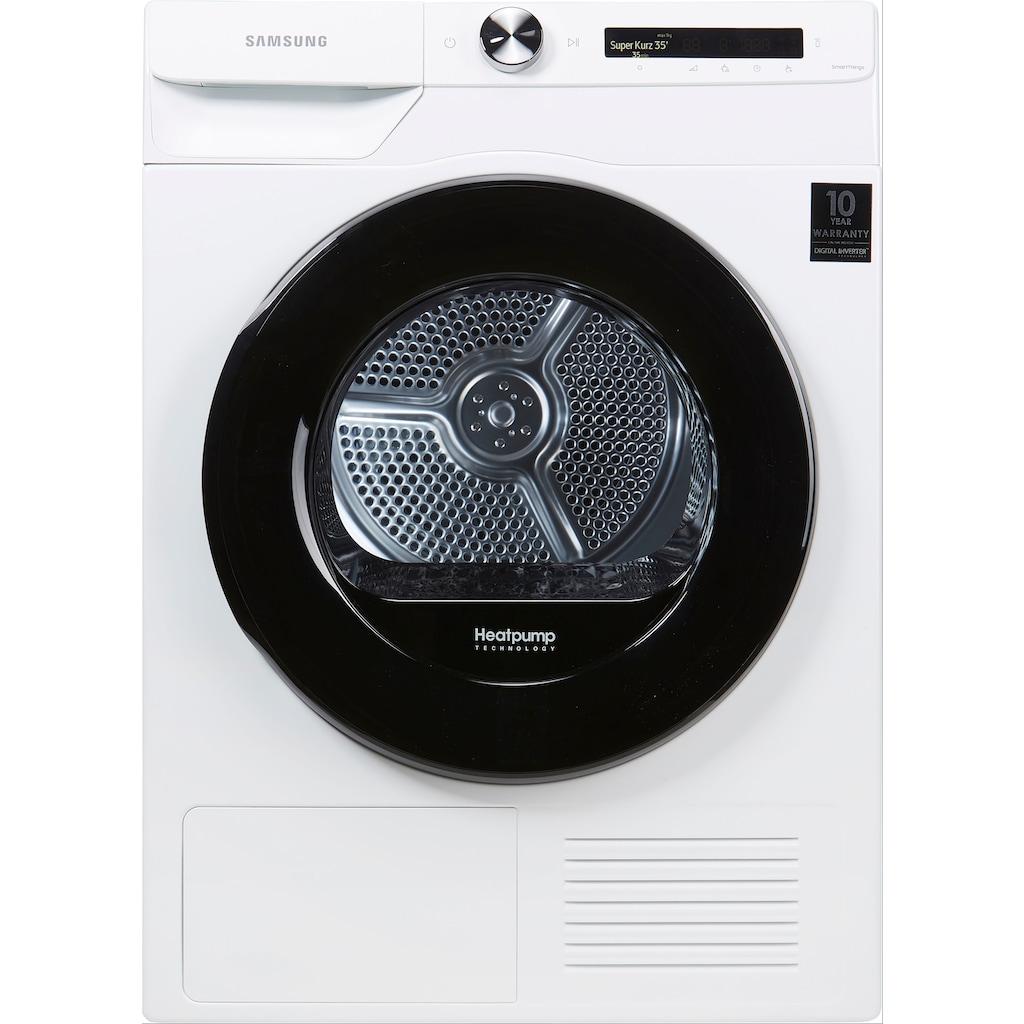 Samsung Wärmepumpentrockner »DV90T5240AW/S2«, 9 kg, Knitterschutz