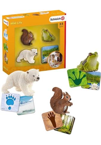 Schleich® Spielfigur »Wild Life, Lernkarten (42474)«, (Set) kaufen
