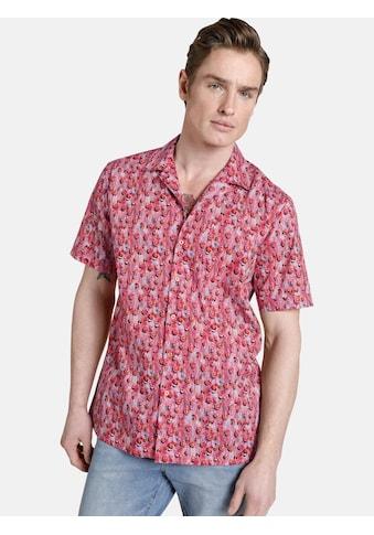 SHIRTMASTER Kurzarmhemd »squeezeit«, sommerlicher All Over Print kaufen