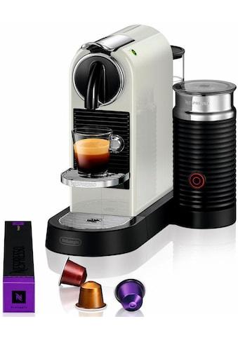 Nespresso Kapselmaschine »NESPRESSO CITIZ EN 267.WAE«, mit Aeroccino Milchaufschäumer kaufen