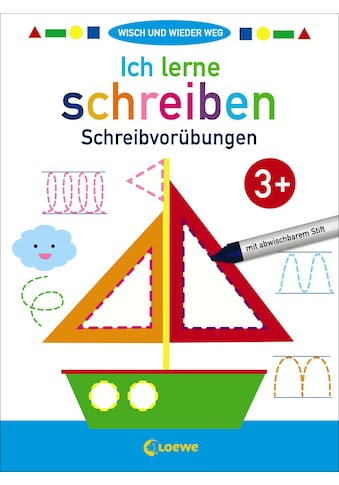 Buch »Wisch und wieder weg - Ich lerne schreiben 3+ / Joshua Schulz« kaufen