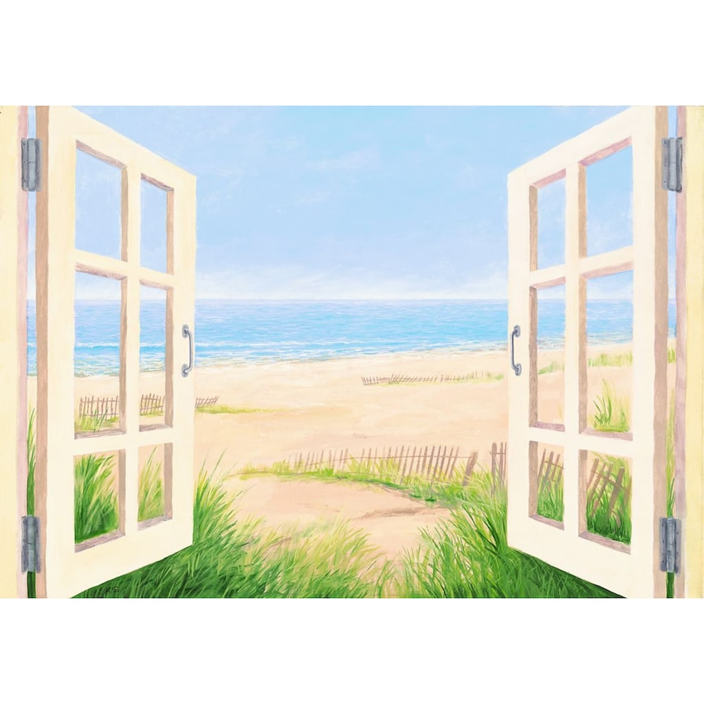 Home affaire Leinwandbild »S., A.: Spring day morning«, 100/70 cm