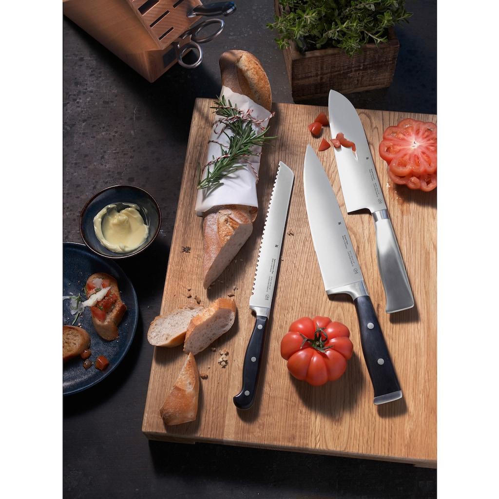 WMF Messer-Set »Grand Gourmet«, (Set, 5 tlg.), Damaststahl, Made in Germany