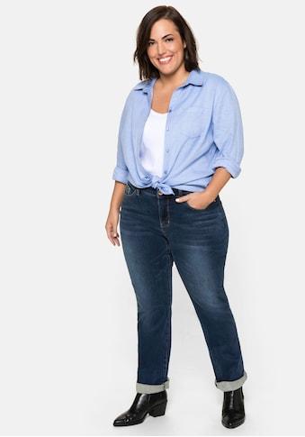 Sheego Gerade Jeans, mit Bodyforming-Effekt kaufen