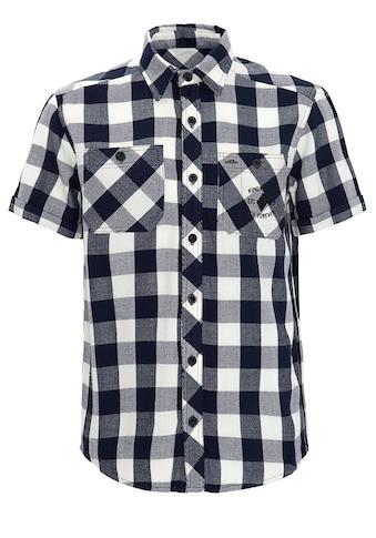 KingKerosin Kurzarmhemd »Ride Forever«, mit großer Rückenapplikation kaufen