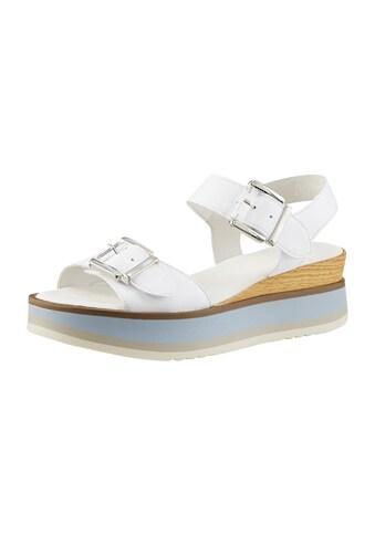 Sandalette in besonderer Optik kaufen