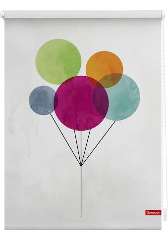 LICHTBLICK ORIGINAL Seitenzugrollo »Klemmfix Motiv Ballon«, Lichtschutz, ohne Bohren,... kaufen