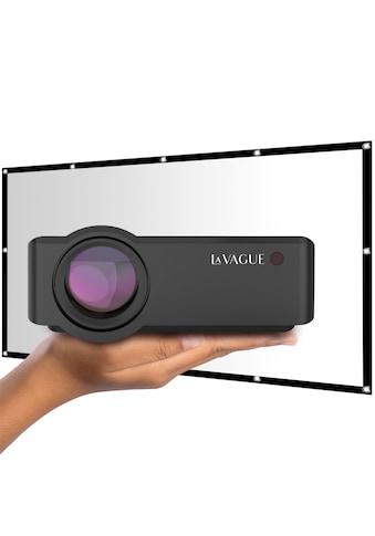 LA VAGUE LED-Beamer »LV-HD320 inkl. LV-STA100FP«, (1000:1), unterstützt Full HD kaufen