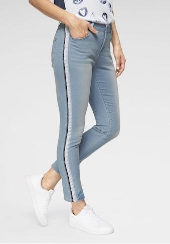 NAVIGAZIONE Schmale Jeans mit Galonstreifen kaufen