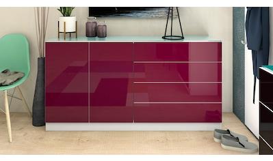 borchardt Möbel Kommode »Vaasa«, Breite 152 cm, Glasoberboden kaufen