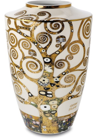 """Goebel Tischvase »Vase Gustav Klimt - """"Der Lebensbaum""""«, aus Porzellan, Höhe ca. 24 cm kaufen"""