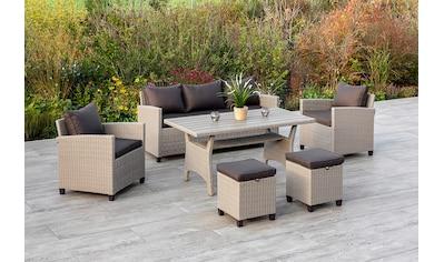 MERXX Gartenmöbelset »Striano«, (16 tlg.), inklusive Kissen, Dining-Set kaufen