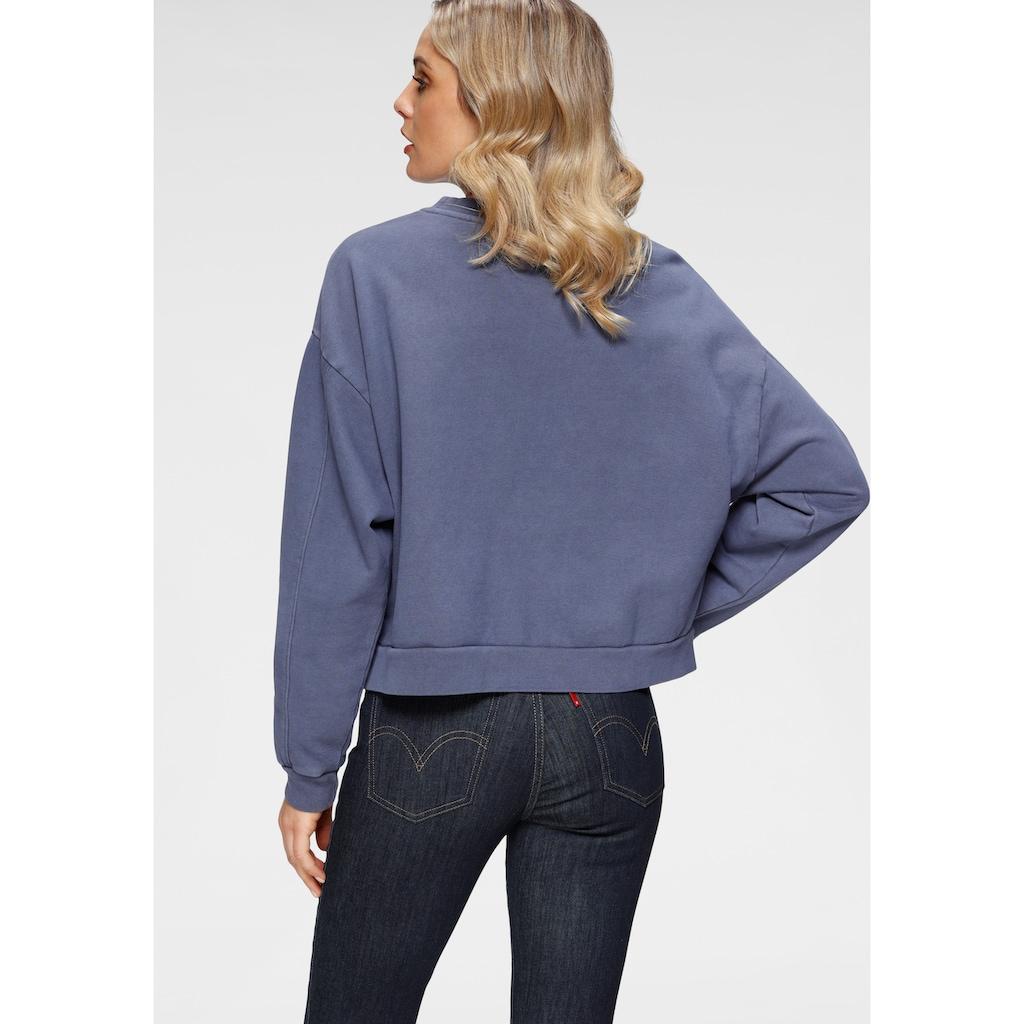 Levi's® Sweatshirt »Graphic Diana Crew«, mit gesticktem großem Logo im Vorderteil