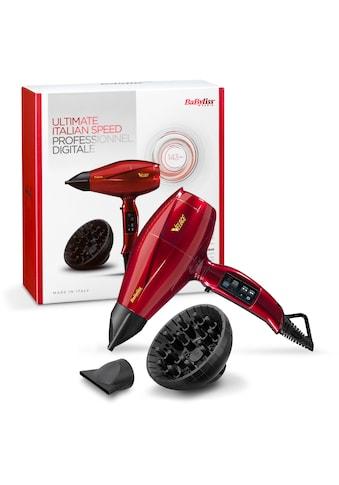 BaByliss Ionic - Haartrockner 6750DE, 2200 Watt, Aufsätze: 3 kaufen