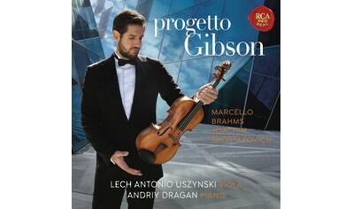 Musik-CD »Progetto Gibson-A legendary Stradivari Viola / Uszynski,Lech... kaufen