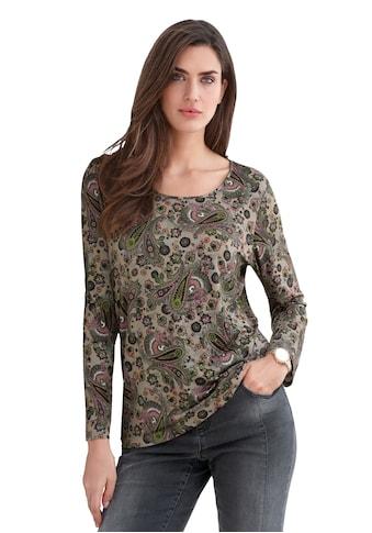 Emilia Lay Langarmshirt »Shirt mit Rundhals - Ausschnitt« kaufen