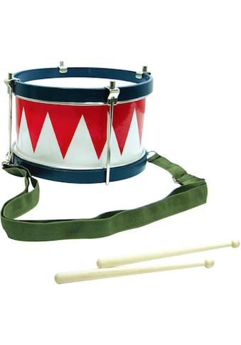 Clifton Spielzeug-Musikinstrument »Kindertrommel blau/weiß/rot«, mit Kinderlieder CD kaufen