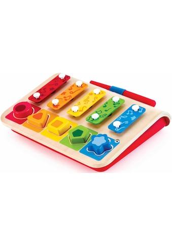 Hape Spielzeug-Musikinstrument »Xylophon-Piano«, inklusive Steckspiel kaufen