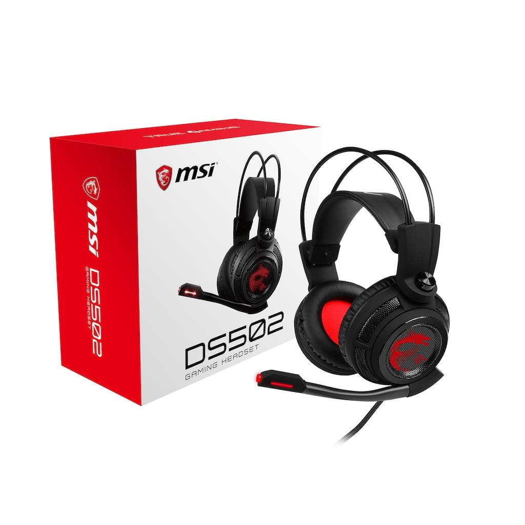 MSI Gaming-Headset »DS502«, Sound bester Qualität