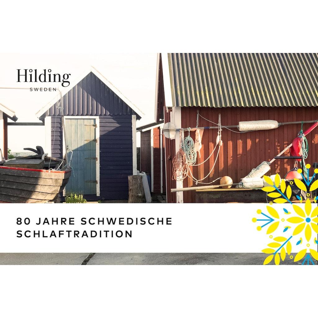 Hilding Sweden Komfortschaummatratze »Malmö Duokern«, 21 cm cm hoch, Raumgewicht: 40 kg/m³, (1 St.), Wendematratze mit zwei unterschiedlich festen Liegeseiten