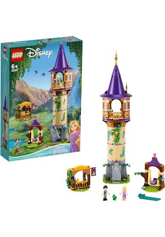 LEGO® Konstruktionsspielsteine »Rapunzels Turm (43187), LEGO® Disney Princess™«, (369... kaufen