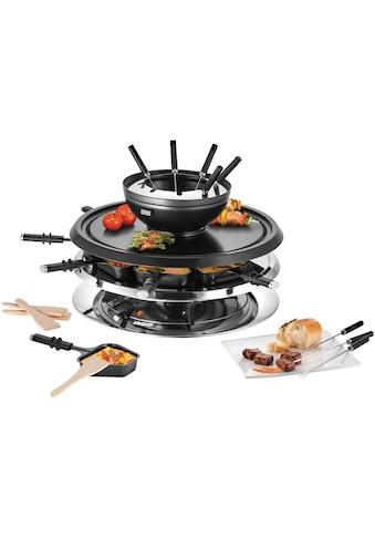 Unold Raclette und Fondue-Set »Multi 4 in 1 - 48726«, 8 St. Raclettepfännchen, 1300 W kaufen
