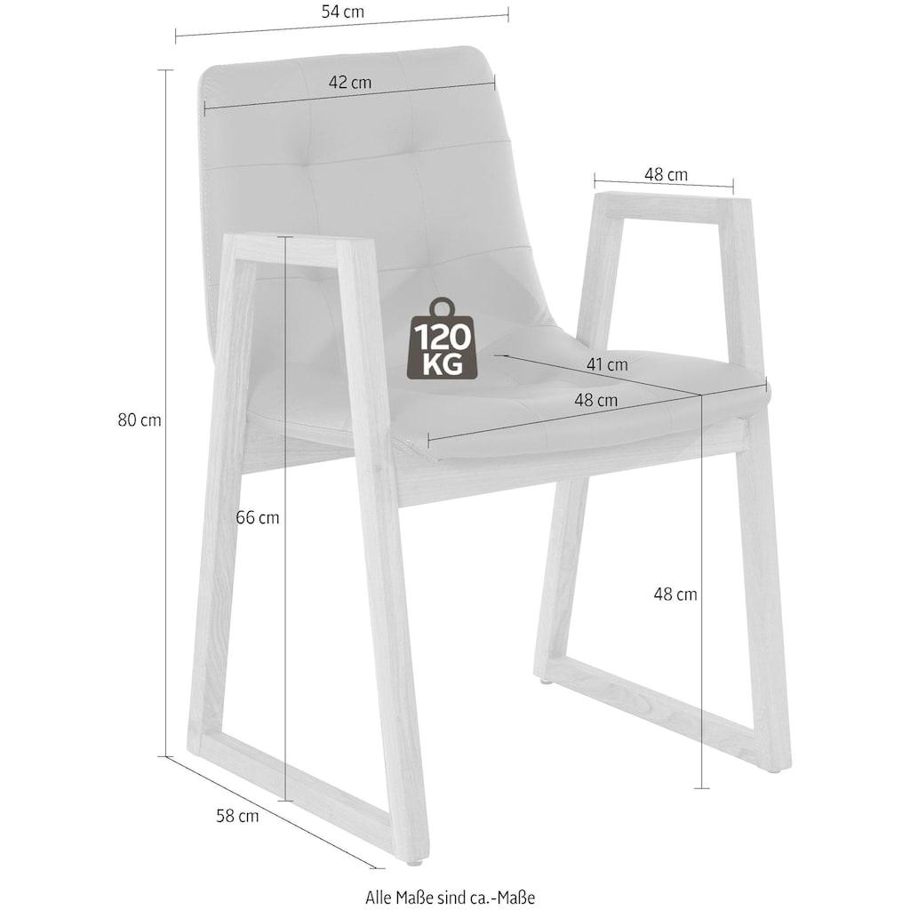 Premium collection by Home affaire Armlehnstuhl »Cagny«, im 2er Set