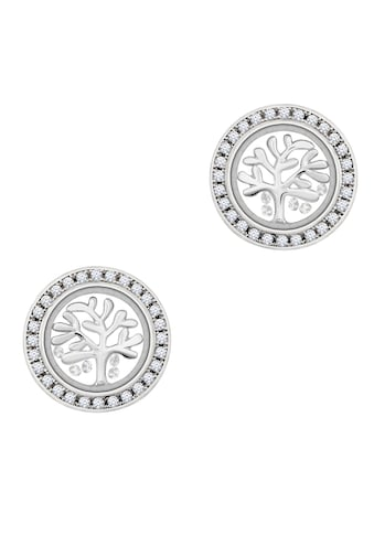 ASTRA Paar Ohrhänger »ASTRA TREE OF LIFE Stud Earrings Frame with Stones« kaufen