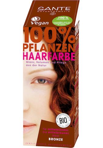 SANTE Haarfarbe »Pflanzenhaarfarbe bronze« kaufen