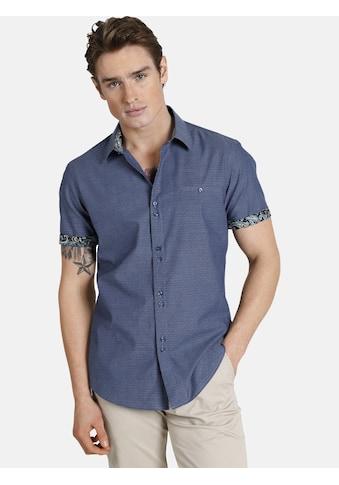 SHIRTMASTER Kurzarmhemd »hiddentreasures«, Baumwollhemd mit Paisleymuster kaufen
